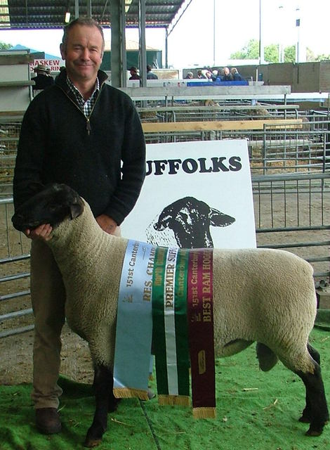 2013 Christchurch Show, Guy Abbott